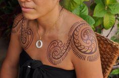 Shoulder Spiral Fern Tattoo by Dave Rodriguez. Site: tattoosbydaverodriguez.wordpress.com