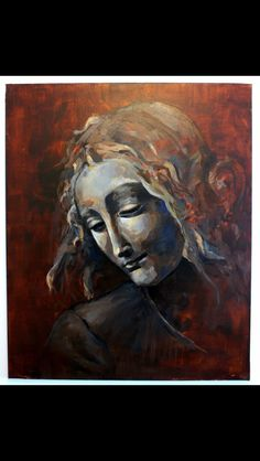 # maria #periñan #reinterpretacion da vinci