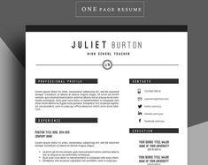 resume template cv template professional resume by chedonresume - Templates For Professional Resumes