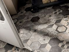 stone hexagonal tiles - Google Search