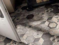 stone hexagonal tiles - Google Search