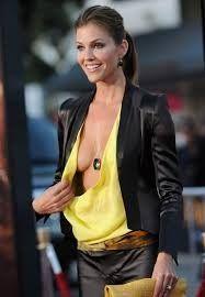 breasts Tricia helfer