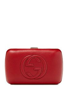 Gucci Soho Leather Hard Case Convertible Clutch http://www.styhunt.com/price/gucci-soho-leather-hard-case-convertible-clutch/30433