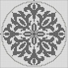 New Crochet Patterns Free Doily Charts Cross Stitch Ideas Filet Crochet Charts, Crochet Cross, Cross Stitch Charts, Cross Stitch Designs, Cross Stitch Patterns, Folk Embroidery, Cross Stitch Embroidery, Embroidery Patterns, Crochet Doilies