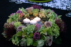 Flowers & Decor, purple, green, Centerpieces, Flowers, Centerpiece, Fujikos flowers