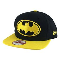 New Era Dc Hero Batman Black Yellow Visor Offliner Snapback Hat Cap @ niftywarehouse.com #NiftyWarehouse #Batman #DC #Comics #ComicBooks