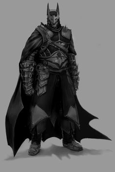 Medieval Batman. Seriously. He's AWESOME.