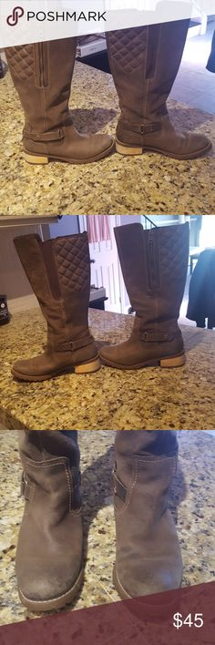 3bda1ab31e4 Timberland boots size 7 Brown I got them a sample sale.