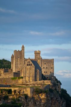 The Château de Beynac is a castle situated in Beynac-et-Cazenac, Dordogne, France. The castle is one of the best-preserved and best known in the region. by Francis Cormon