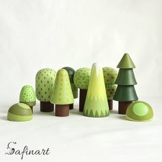 This woodland tree set includes 10 trees of different type. Please see the detailed photo. Wooden trees will be a great gift for creative games or interior decoration. It is handmade and safe for your child SIZE: - x // inches x inches - x // inches x Toys For Girls, Baby Girls, Newborn Girls, Baby Baby, Wooden Tree, Nature Table, Waldorf Toys, Bird Toys, Wooden Dolls