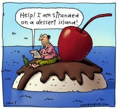 Funny Grammar Errors | STRANDED ON A DESSERT ISLAND!