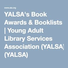 Find out more about the best books published each year for teens! YALSA's book awards and selected booklists honor the best books for young adults, highlighting the best teen literature published each year. Library Services, Teaching English, Book Publishing, Good Books, Literature, Awards, Teen, Learning, Teaching Ideas