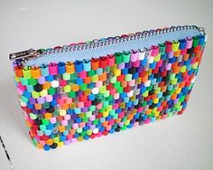 Purse of hama beads maybe for Addy to make
