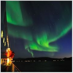 Hunting the light with Hurtigruten