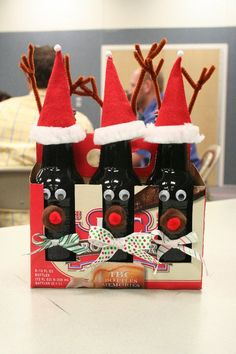Rein-beer! Cute gift idea