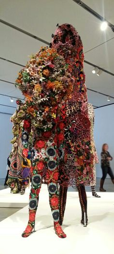 Nick Cave exhibit at the Institute of Contemporary Art in Boston, MA