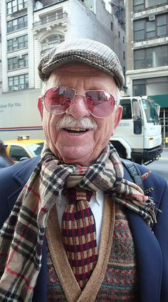Oldman looking