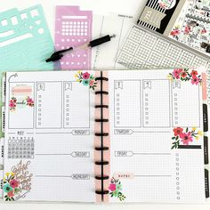 All In One Bullet Journal Weekly Layout – BY ROCHELLE