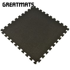 Foam gym mats for home in 10 mm pebble top are durable like rubber and much lighter. Use gym mats for home gym flooring tiles for basements and in garage floors.