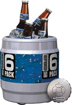 Remote Controlled Beer Cooler... Yes