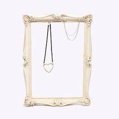 Romantic Frame With Jewellery Hooks - jewellery storage