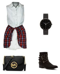 """""""Untitled #9"""" by sricci28 on Polyvore featuring Penny Loves Kenny, MICHAEL Michael Kors and I Love Ugly"""