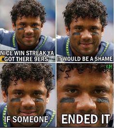 GO HAWKS! Seahawks Memes, Seahawks Fans, Seahawks Football, Seattle Seahawks, Nfl Memes, Football Memes, Winning Meme, Super Bowl Wins, 12th Man