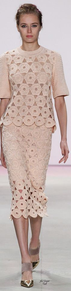 Lela Rose Spring 2016 RTW  women fashion outfit clothing stylish apparel @roressclothes closet ideas
