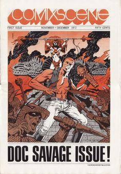 Comixscene (#1), 1972