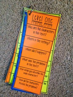 """Life in Fifth Grade: Increasing Students' Thinking! Moving Past """"Right There"""" Questions"""