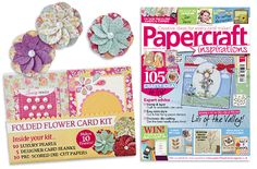 We're so proud of our Folded Flower Card Kit, free with issue 129!   On sale in the UK until 18th Aug 2014.