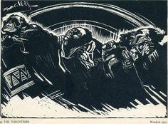The Volunterers - Kathe Kollwitz - 1922