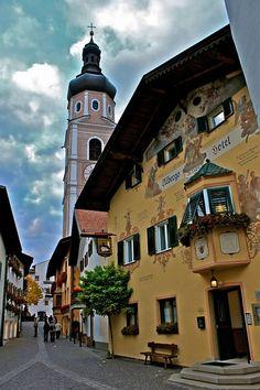 Castelrotto, Italy.  My favorite city in the World. Hotel Cavallino D' Oro de ja vu.