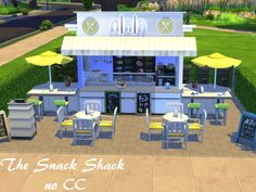 her your sims can get the best burgers in oasis springs ! Found in TSR Category 'Sims 4 Community Lots' The Sims 4 Lots, The Sims 4 Pc, Sims 1, Sims 4 House Building, Sims 4 Penthouse, Sims 4 Restaurant, Sims 4 Pets, Muebles Sims 4 Cc, Paraty