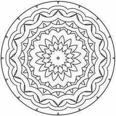 Mandalas para colorear para imprimir gratis | Mandalas para imprimir