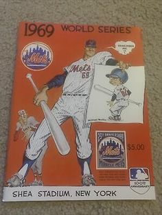 1969 World Series reproduction program New York Mets Baltimore Orioles | eBay World Series Winners, Shea Stadium, Baltimore Orioles, New York Mets, Ebay