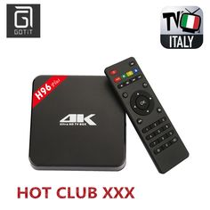 93.60$  Watch now - http://alicmz.worldwells.pw/go.php?t=32728584760 - H96Plus S905 Android TV Box Set Top BOX with Super IPTV 1500+Europe Channels HotClub XXX Italy German Spain Portugal France UK