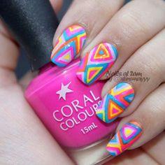 A kaleidoscope of colours  @xtinemayyy