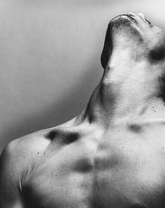 Male neck bone structure: Gus I, by Nadav Kander