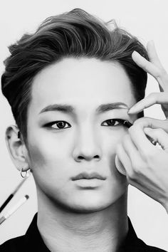 A bit much on the light bleaching. maybe some photoshop. Maybe a bit too much makeup. But still, Key is gorgeous!