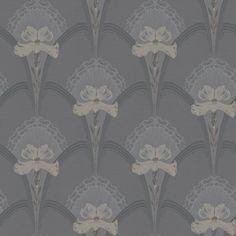 BorasTapeter - Jubileum - Lilja Wallpaper - 3 Colours Available - from Rockett St George