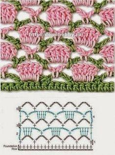MES FAVORIS TRICOT-CROCHET: 150 points au crochet … Mais