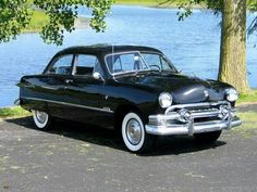 1951 Ford..This generation of Fords was launched in 1949 and won the third Motor Trend Car of the Year award that summer