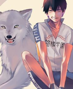 "haruuuka: ""doing some postcards for AX. Hakone, Wolf Boy Anime, Manga Art, Manga Anime, Wolf Artwork, Yowamushi Pedal, Vocaloid Cosplay, Anime Base, Akita"