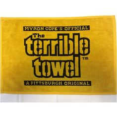 Shop the Official Steelers Pro Shop for Pittsburgh Steelers Woven Terrible Towel Pittsburgh Steelers Logo, Go Steelers, Steelers Terrible Towel, Nfl, The Originals, Vintage, Country, American Football, Rural Area