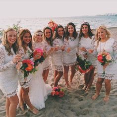 I had the best wedding I could had ever dreamed of in Puerto Vallarta, Mexico. Secrets Vallarta Bay Resort is where this was taken and where the wedding was at. Everything was perfect! The dresses are from UrbanOutfitters. Amazing and perfect too!! Thought I would share with the world. Happy bride here :):)