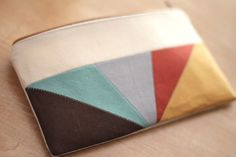 DIY Inspiration - Zippered Pouch