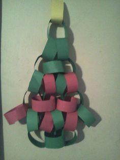 Christmas countdown tree chain! 2013