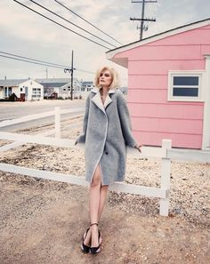 """Elena Melnik in """"Fifty Fifty"""" by Federica Putelli for ELLE Mexico, December 2014"""