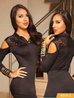 Colombian Fashion Blouse Cereza Ref. 101 -8053-2